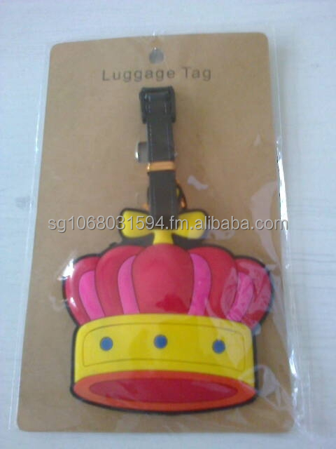 Luggage Tag - Crown