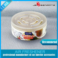 2016 Hot sale Water based air freshener brands , Car gel air freshener