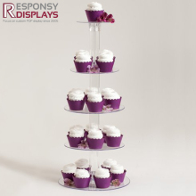 counter table food cake stand acrylic bakery display