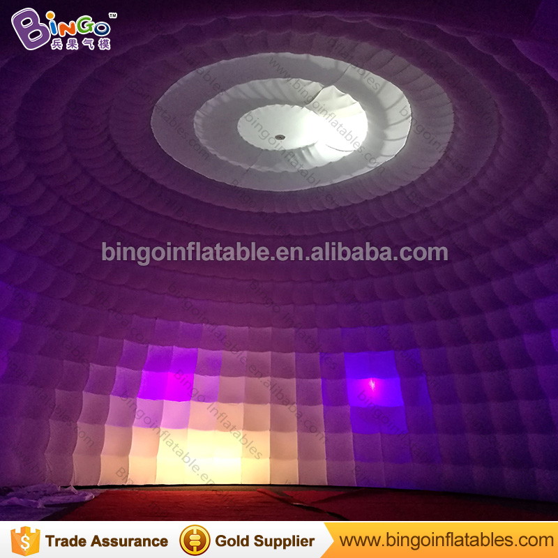 15m giant inflatable disco dome igloo tent for party/wedding