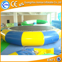Cheap Jump Air Bouncer Inflatable Water Trampoline for Summer Hot Sale