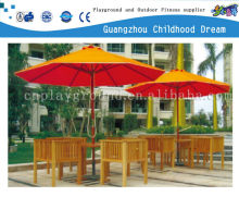 (HD-19601)Outdoor leisure bench with umbrella