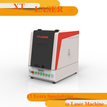 Raycus/ IPG 20W mini fiber laser marking machine for metal,watches,camera,auto parts,buckles