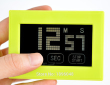 Cooking Timer Touch Screen Clock Digital LCD Kitchen Sport CountDown Green 99 Minute Hot Sale