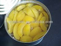 canned sliced yellow peach