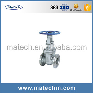 OEM Precision A216 Wcb Material Api 600 Manual Operation Gate Valve