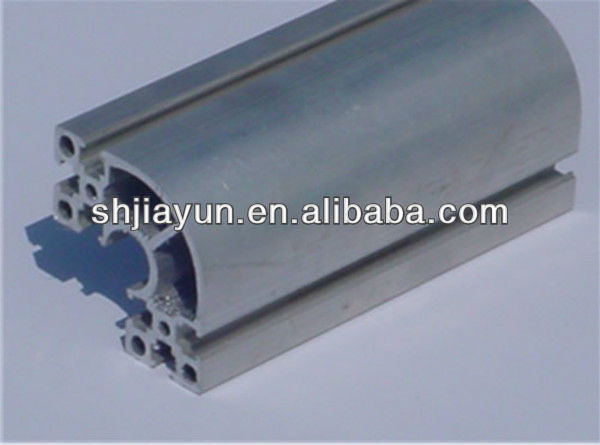 6061 6063 T5 T6 industrail aluminum profile price per kg with china manufacturer