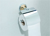 High quality brass toilet paper holder stand