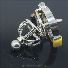 Stainless Steel Male Chastity Cage Device Men Penis Ring CBT enlargement sleeve