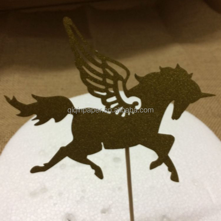 Unicorn Cake Topper Unicorn Birthday Party Custom Cake Topper