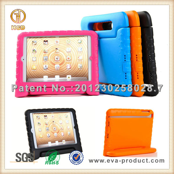 Kids EVA foam shock resistant hard cover case for ipad 5