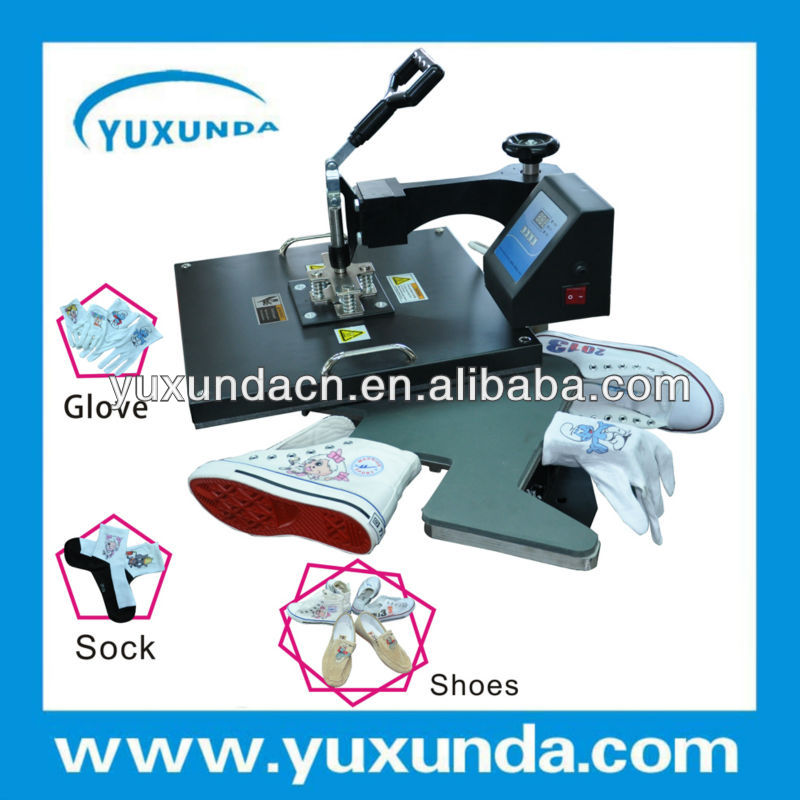 Hot selling 38*38cm shoes heat press machine 3d sublimation vacuum heat press machine shoes insole press machine
