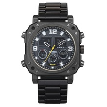 Infantry Mens Black Tactical Military Army Analog Digital Sport Wrist Watch New
