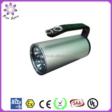 high quality lithium battery explosion proof waterproof led portable searchlight