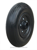 Contemporary promotional Solid PU Foam Wheel, pu foam rubber wheel 8 inch wy-032-2