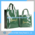 cotton coated pvc shopping bag