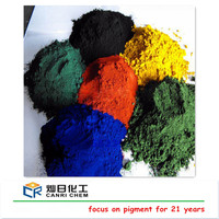 industrial grade mica iron oxide powder and red yellow black pigments for making paint/paver/brick/concrete mixing
