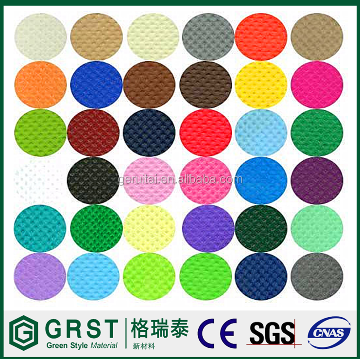 China Manufacturer Waterproof Laminated Non Woven Polypropylene Fabric