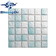 Factory Supply Various Colors Ceramic Mosaic for Swimming Pool Mosaic <strong>Tiles</strong>