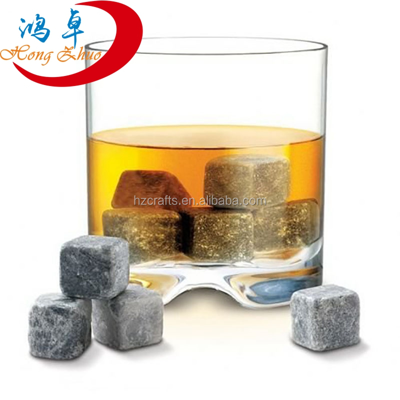 Whiskey chilling soapstone whisky stones ice cubes reusable ice cubes for whiskey <strong>wine</strong>
