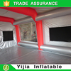 New design best automatic inflatable spray paint booth