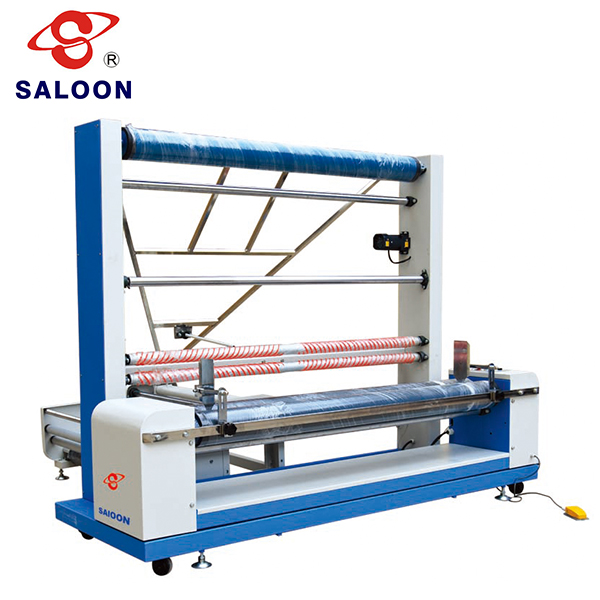 Auto-winding & Deviation ISO 9001 Approved Cloth Rewinding Machine