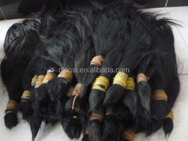 Chinese, Indian virgin hair bulk/natural braid/raw bulk hair