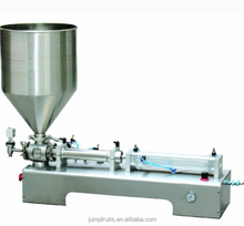 Shanghai supplier Easy Operate automatic tomato paste sachet / spout pouch filling machine