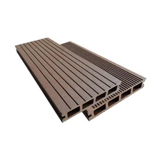 PE material wpc wood flooring from China