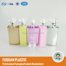 OEM New perfume bottle style acrylic cosmetic lotion pump bottles