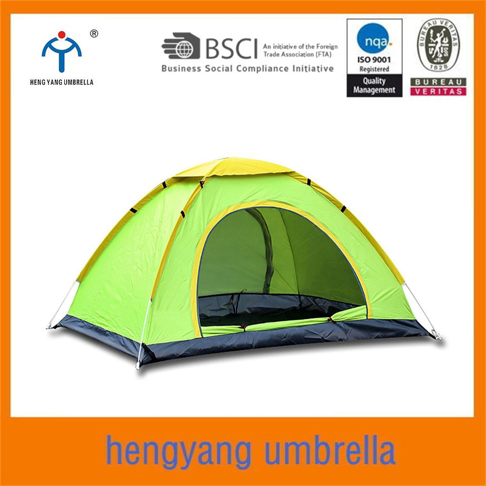 portable hiking shelter 3-4 person pop up camping <strong>tent</strong>