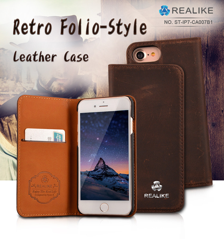2017 trending products Flip stock lot wallet leather case cover for iphone 7 plus