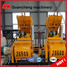 Shandong machinery 500l harga concrete mixer with good price