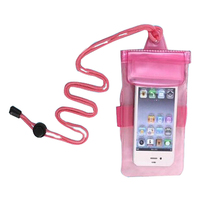 PVC waterproof phone bag for cellphone camera packing