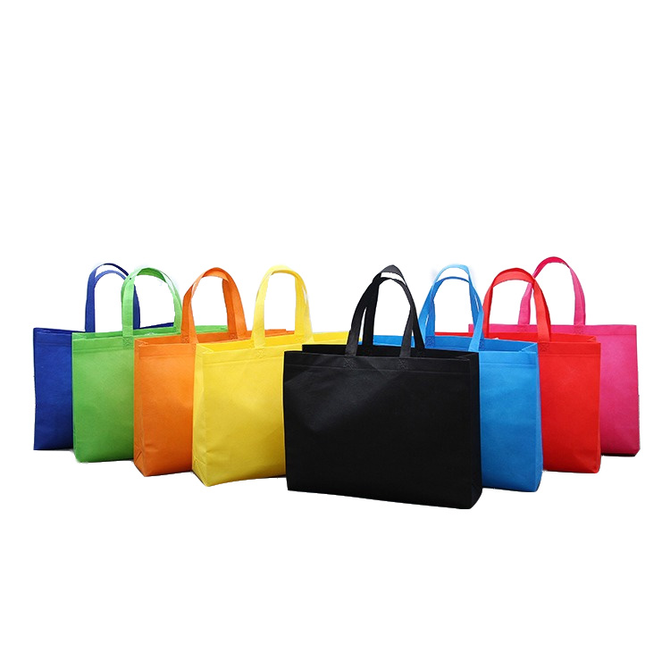 New style fashion reliability high quality foldable small reusable matt lamination polypropylene custom tote non woven bag