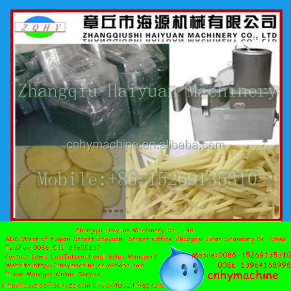 Jinan Zhangqiu potato chips making machine price