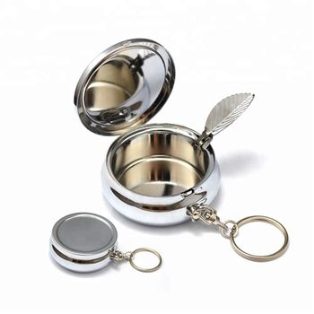 Free sample decorative cute multi food grade round shaped one compatment lockable iron metal keyring pill boxes