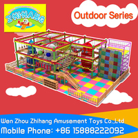 Zhihang Amusement Toys, Indoor Naughty Castle,Indoor Children Playground Outdoor climbing wall