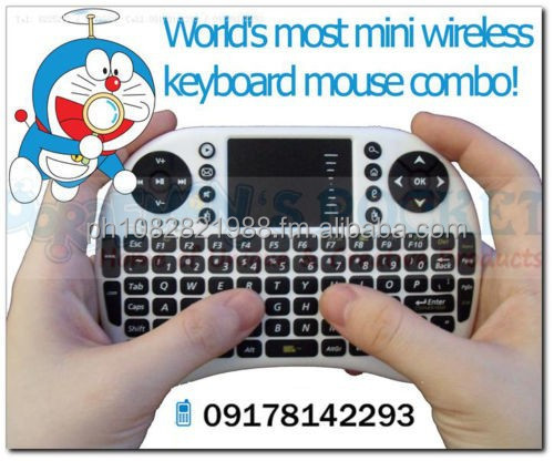 RII I8 World's Most Mini Wireless Keyboard Mouse Combo