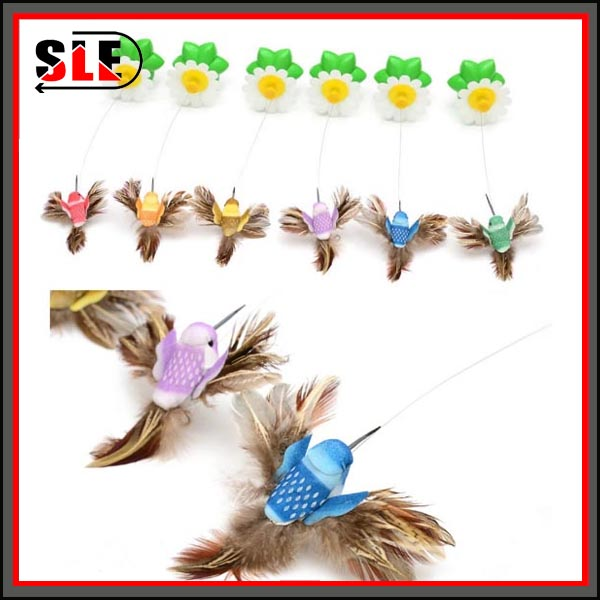 Electronic Bird Charmer Dancer Flying Cat Toy Teaser Interactive Pet Toy