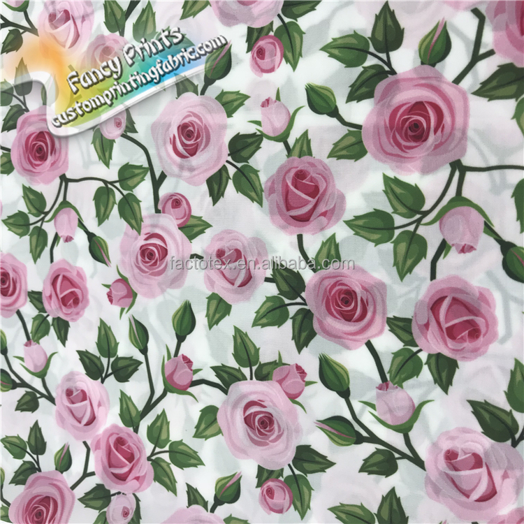 100% Cotton Printed Voile 80x80/90x88 1.6OZ Printed Cotton Voile digital Printed Cotton Sheeting Fabric
