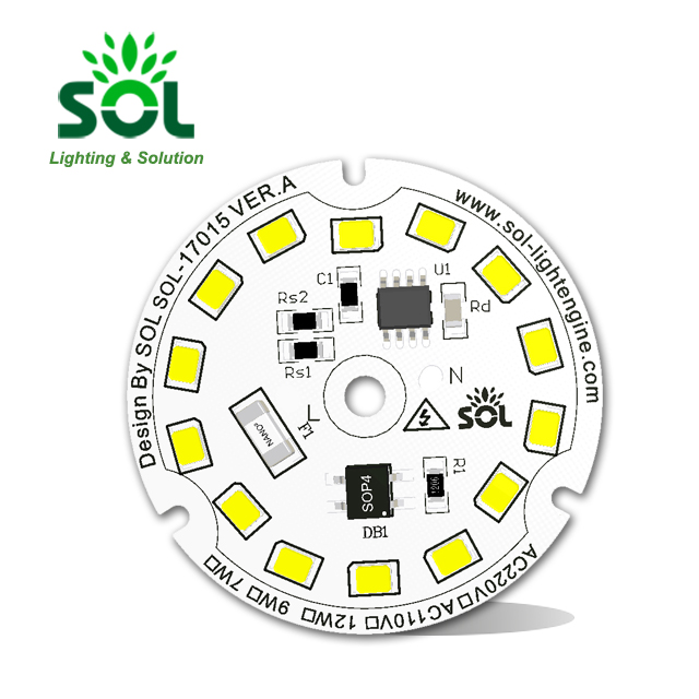 20W 110v 220v SMD 3030 2835 5730 driverless AC PCB LED <strong>module</strong>