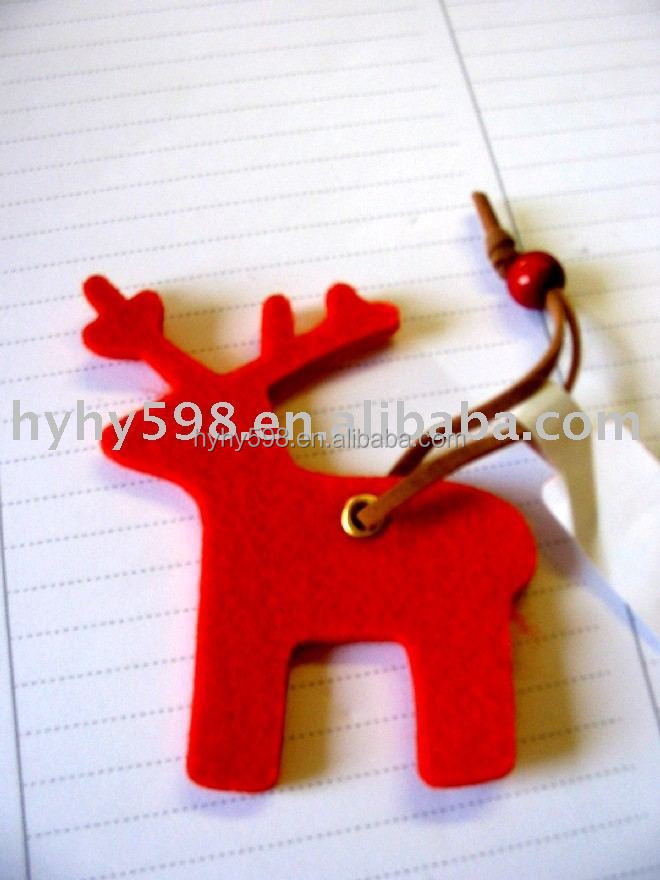 15072702 2015 New Arrival Popular polyester felt christmas decoration