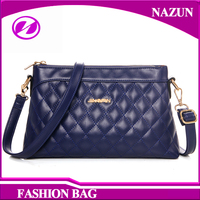 Fashion Purses Women Zipper Bag PU Leather Shoulder Bags Girls handbags