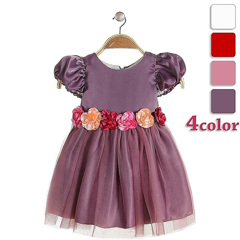 Encantador Las Niñas Adolescentes Vestidos De Fiesta Ornamento ...