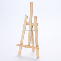 Professional mini size pine easel 31X18.5X40 CM table easel