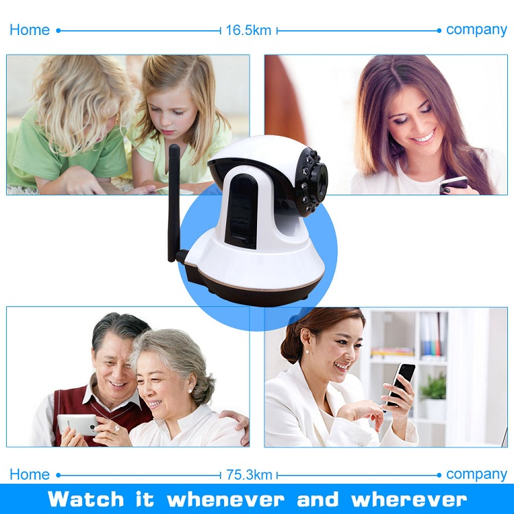 simple operation wifi gsm wireless home surveillance alarm system with CE certificate