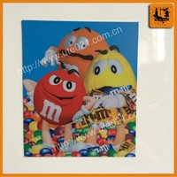 promotional colorful and high-quality printed fridge/car magnetic sticker