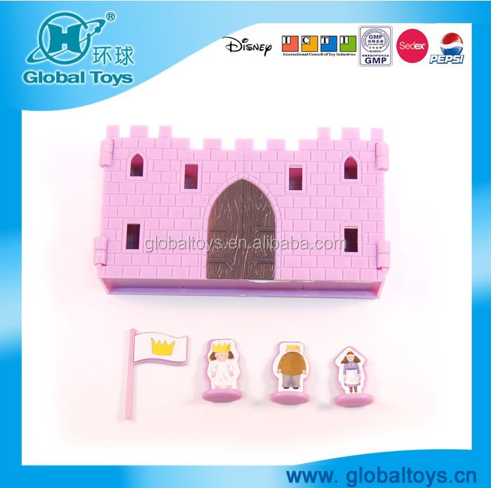HQ7760 PRINCESS CASTLE BOX with EN71 standard for promotion toy