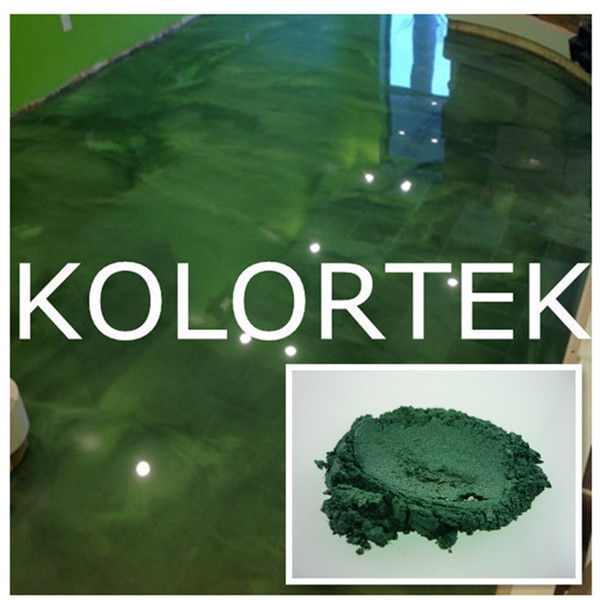 High quality pearlescent metallic epoxy floor coating pigments